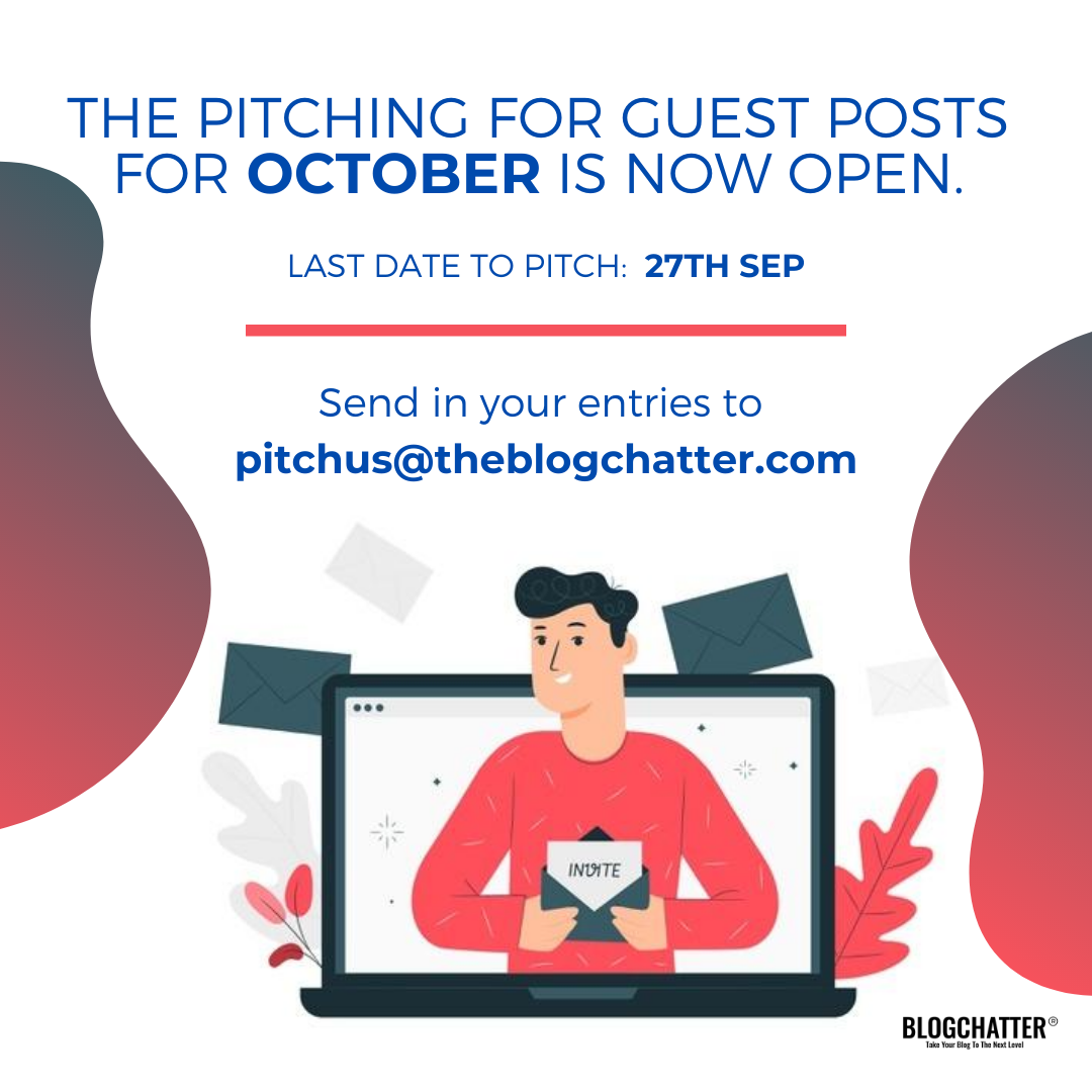 Pitches for October are now open