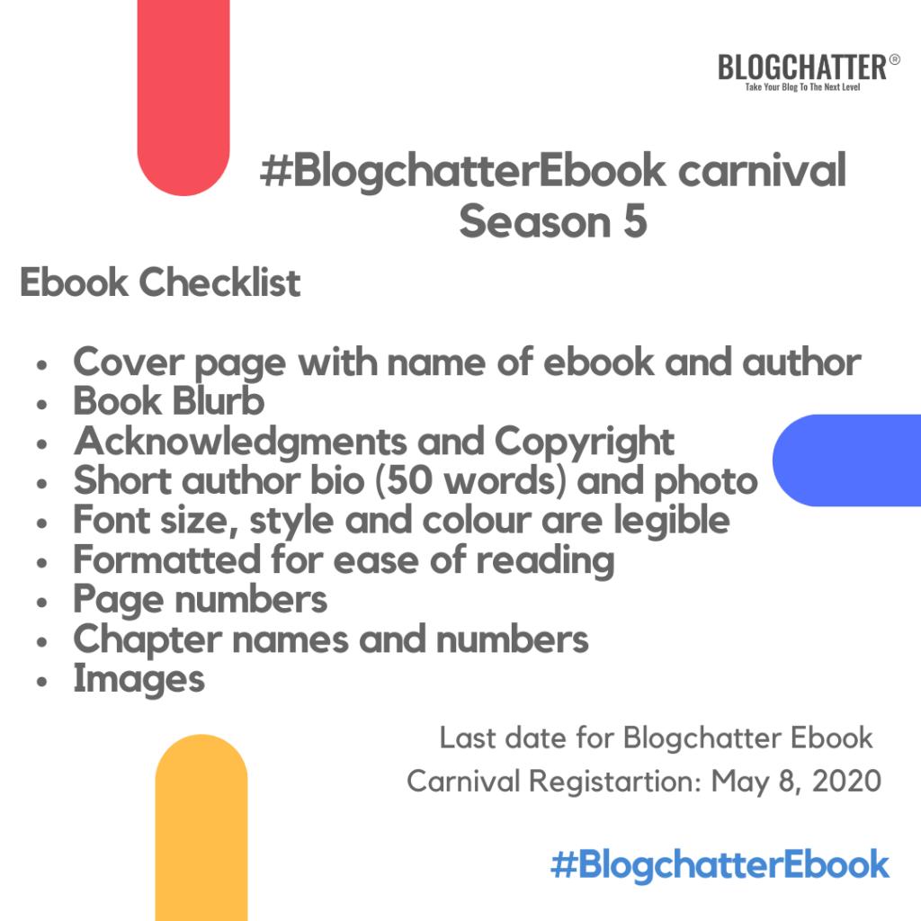 Checklist for ebook