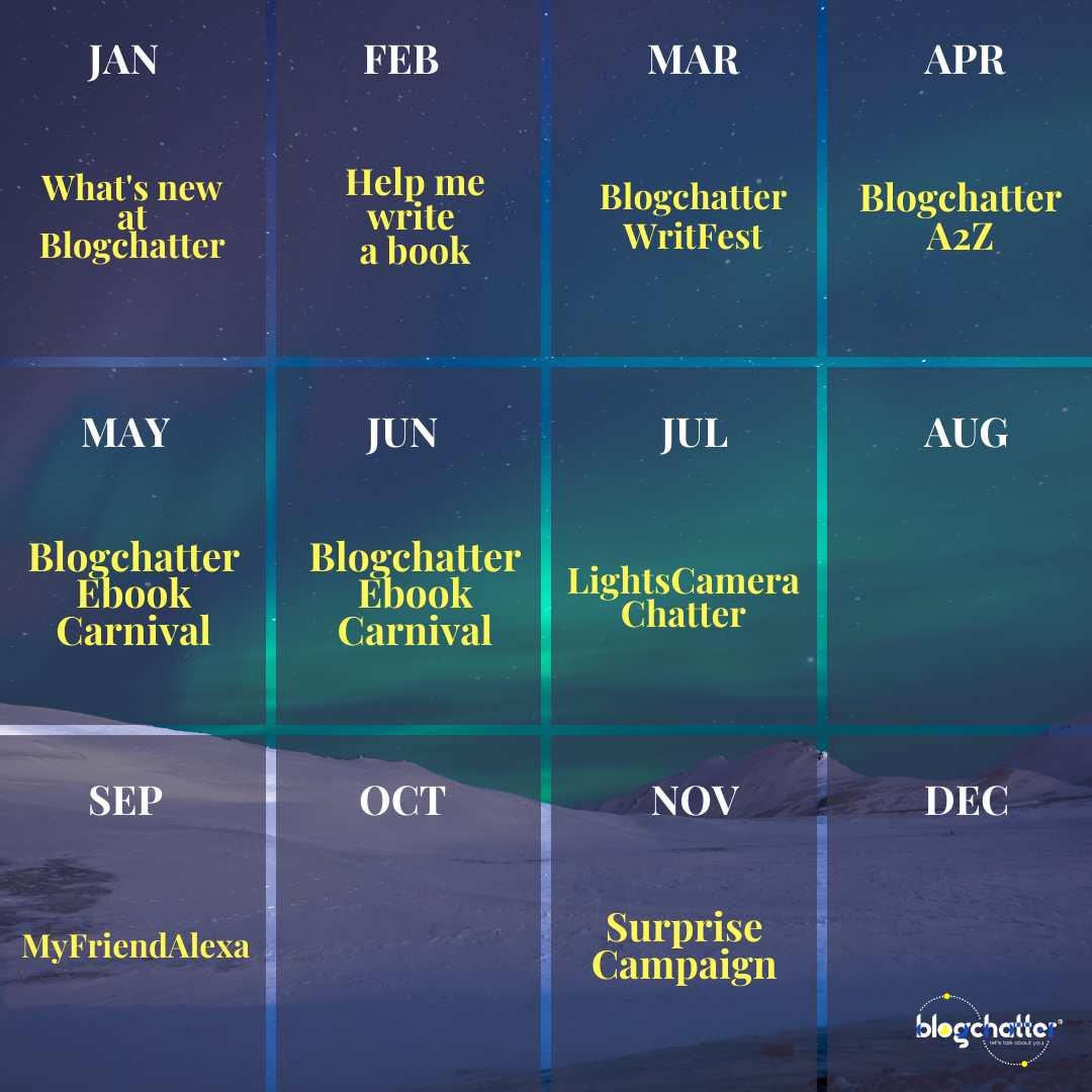 Blogchatter Events Calendar