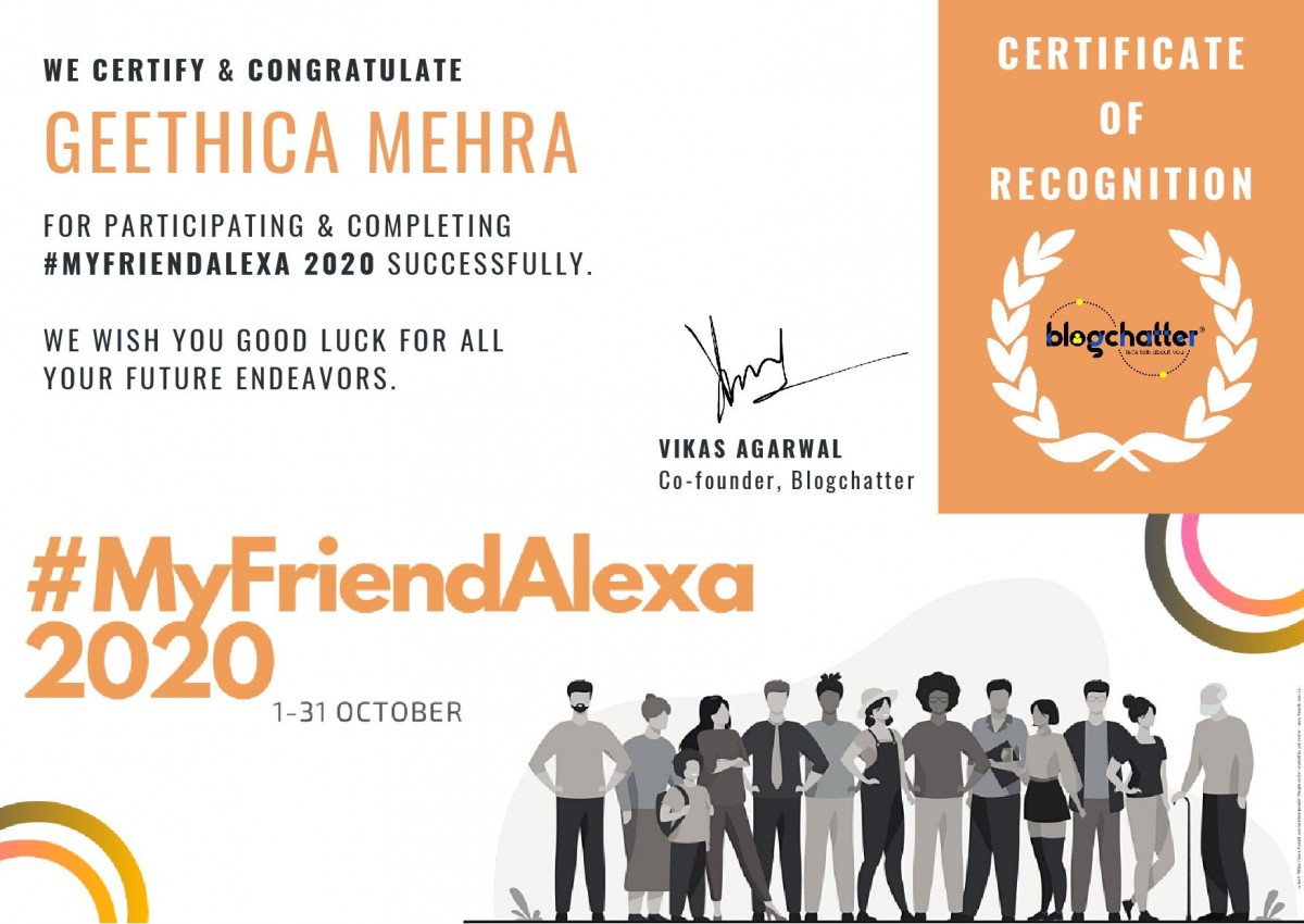 Alexa certificate